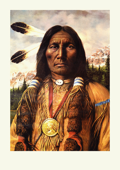 Comanche Komantsche Indianer H 228 Uptling B 252 Tten Ixz 1