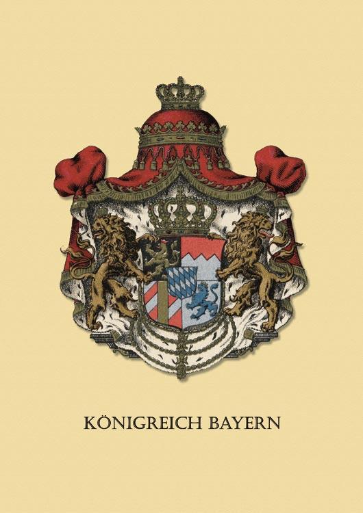 Diplomatie bavaroise Bayern-Wappen