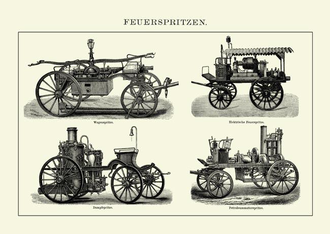 Feuerspritzen-Feuerwehr-Dampf-Petroleum-Wagenspritze-Faksimile-4